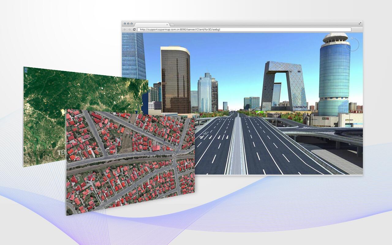 SuperMap iServer - 服务器GIS软件平台